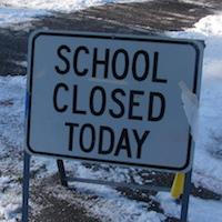 School Closed SIgn - Morgue-file3691291227482 200px
